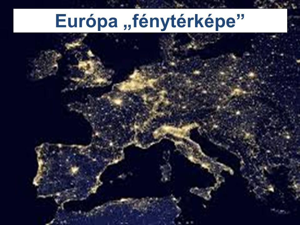 """23 Európa """"fénytérképe"""""""