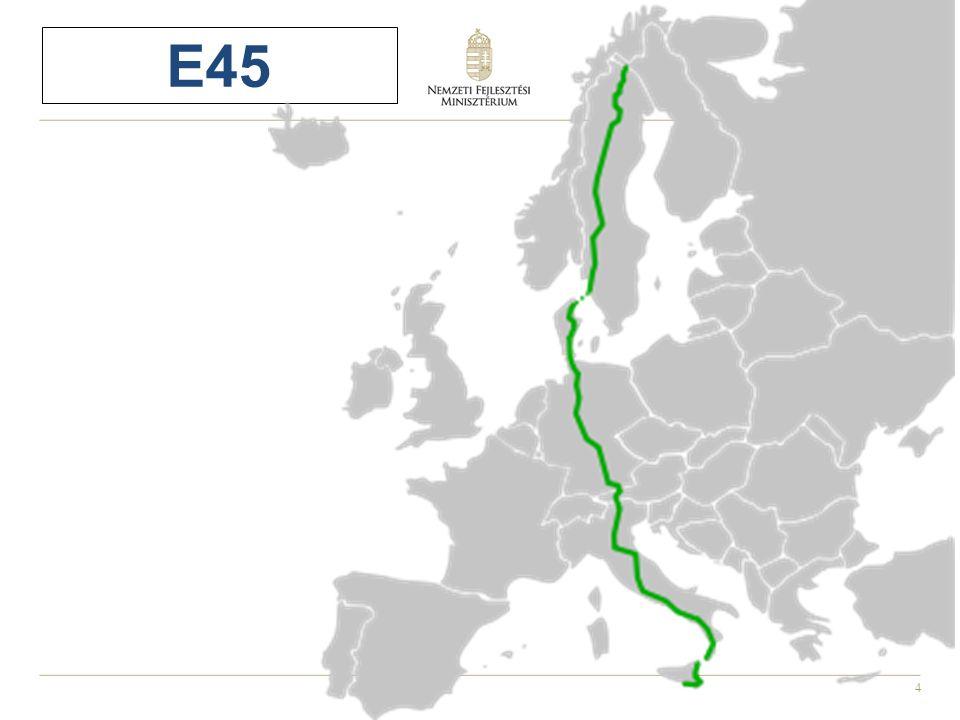 25 Az előadásban érintett témák 1.A közúthálózat és az európai térszerkezet 2.