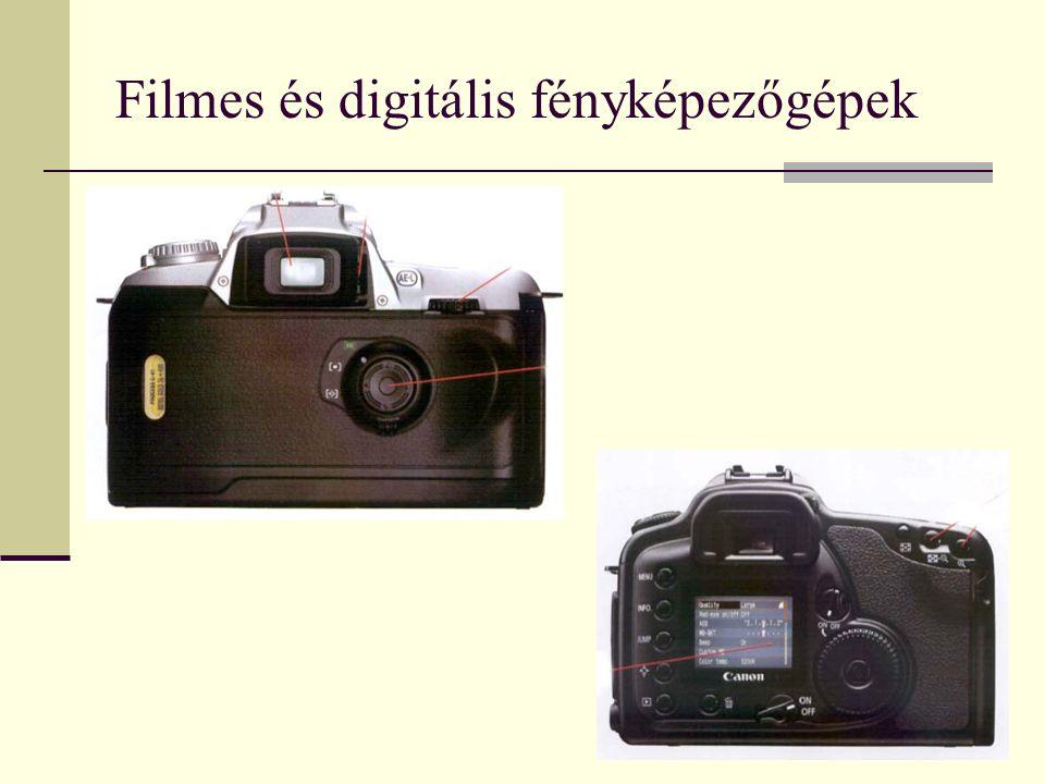 Filmes és digitális fényképezőgépek
