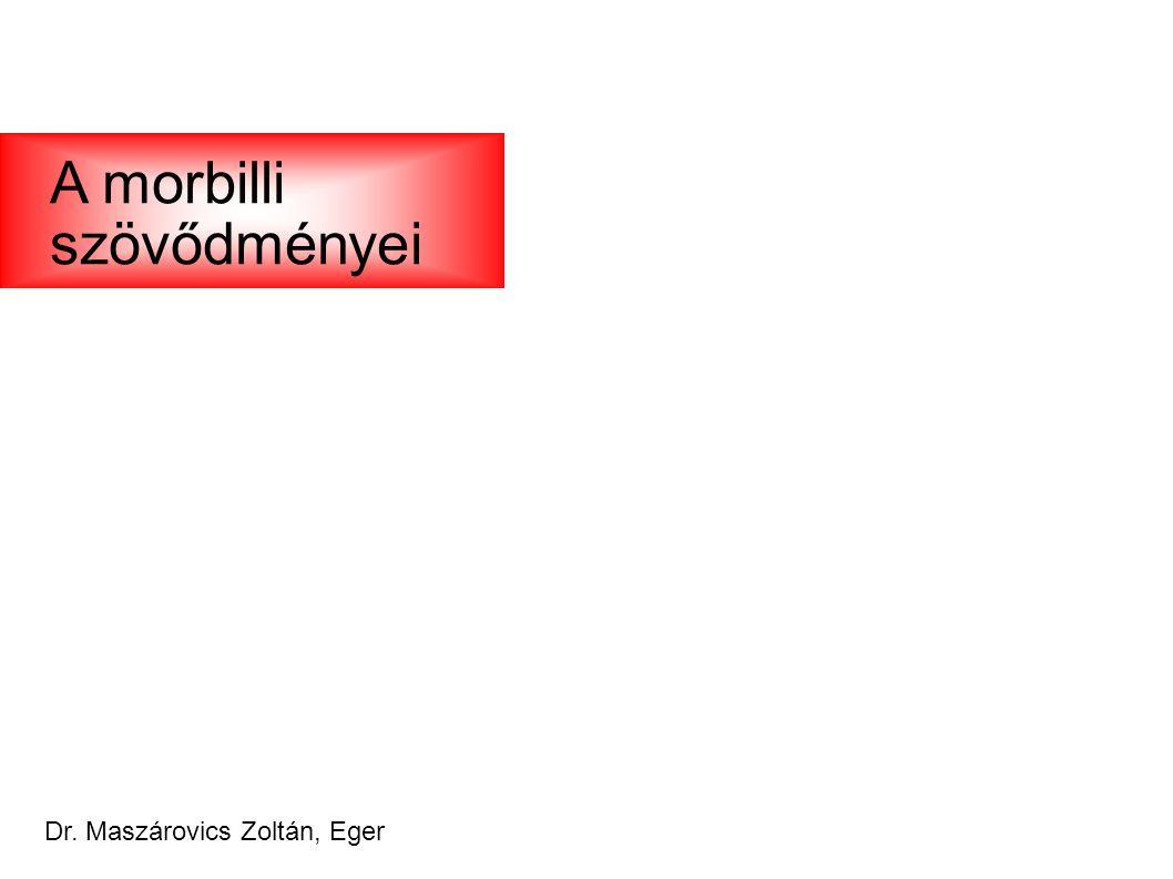 Dr. Maszárovics Zoltán, Eger A morbilli szövődményei