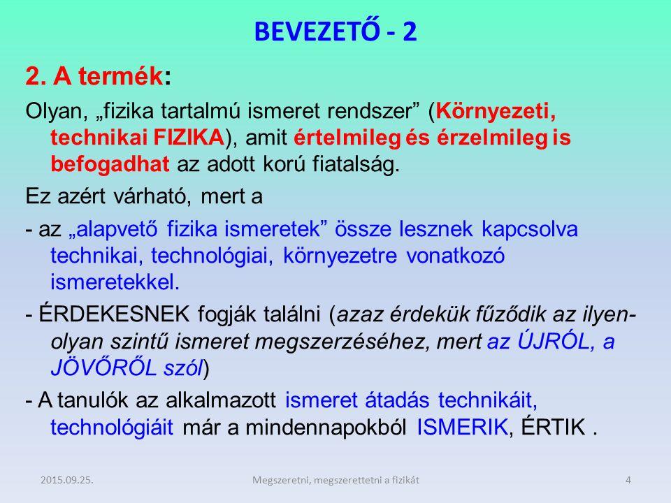 BEVEZETŐ - 3 3.