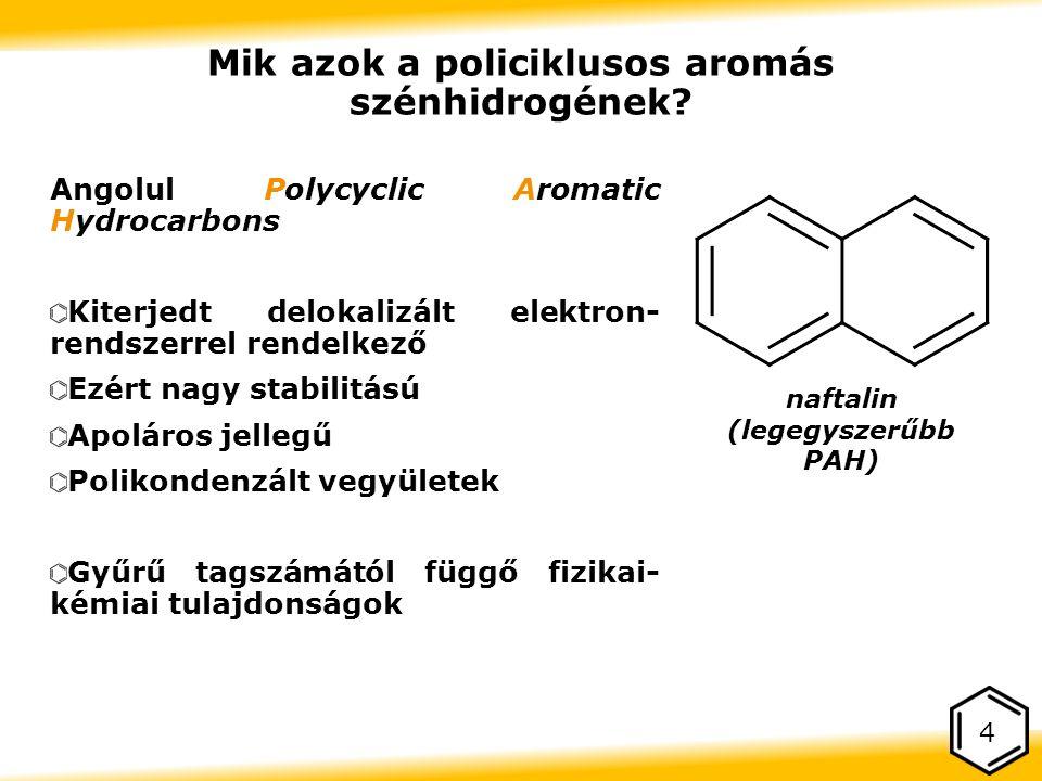 Mik azok a policiklusos aromás szénhidrogének.