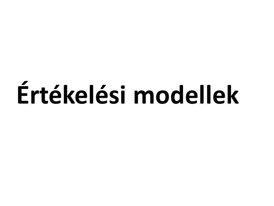 Értékelési modellek