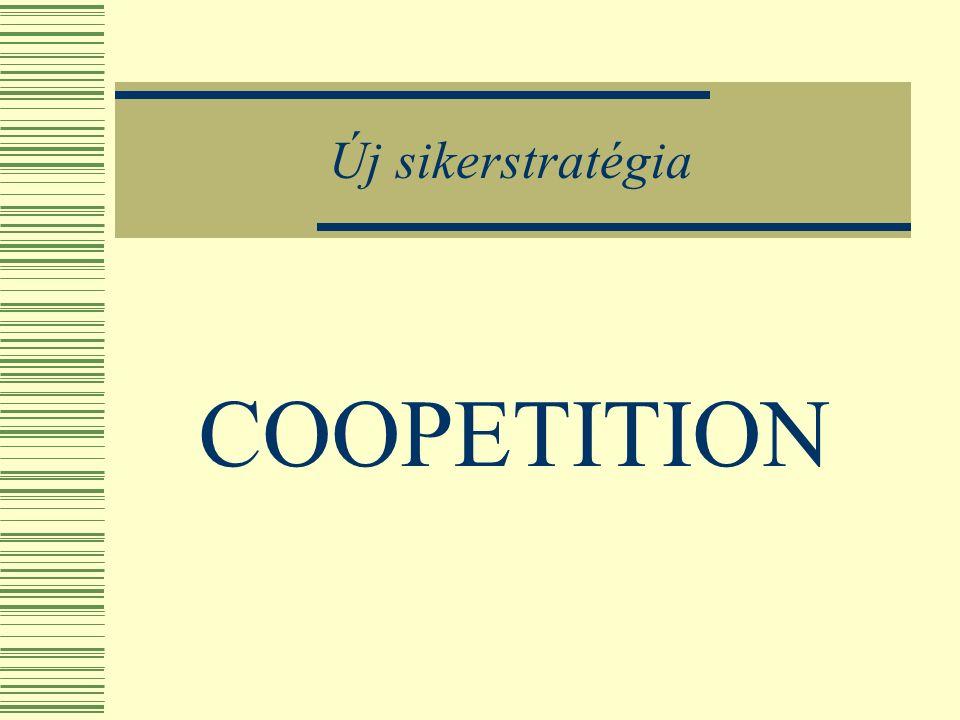 A KKV-kooperáció készségének növelése a fejlődés egyik meghatározó lehetősége  Cél-orientált együttműködés típusai Stratégiai szövetség, közös vállalat, stratégiai hálózat, Horizontális, vertikális, komplementer Mellék-kooperációs formák túllépnek a vállalkozások határain (kamarák, kutató-intézetek, alapítványok, stb.)