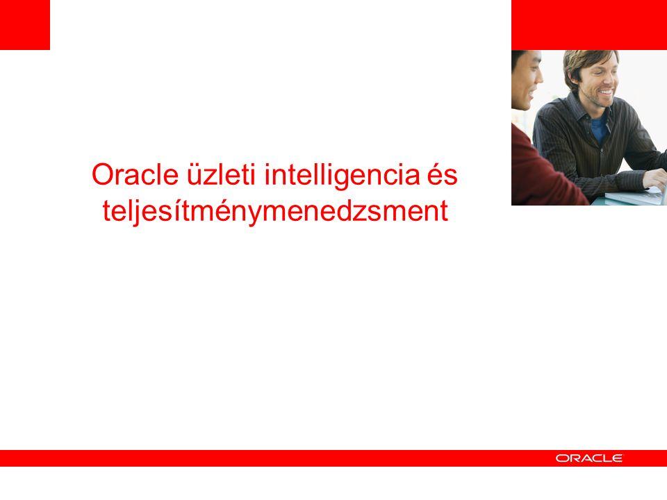 Oracle üzleti intelligencia és teljesítménymenedzsment