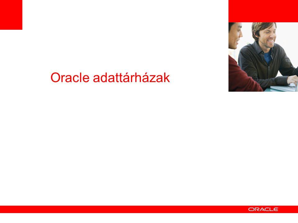 Oracle adattárházak
