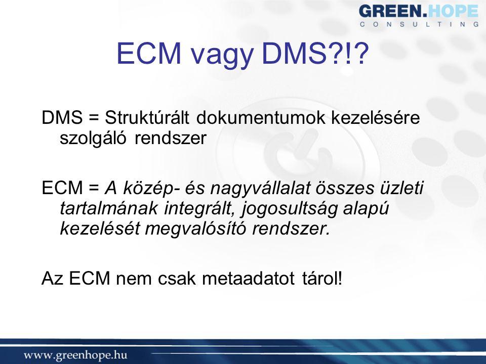 ECM vagy DMS !.