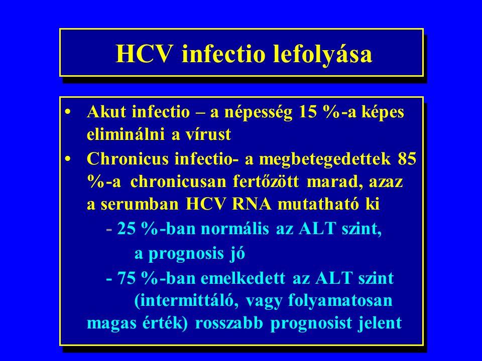 A HCV fertőzés lehetséges módozatai hemodialízis fetőzött tű tetoválás nyál (harapás) perinatalis (ritka) sexuális (ritka) intrafamiliáris .