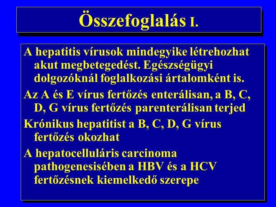 Alkohol és a hepatocarcinogenesis 1.
