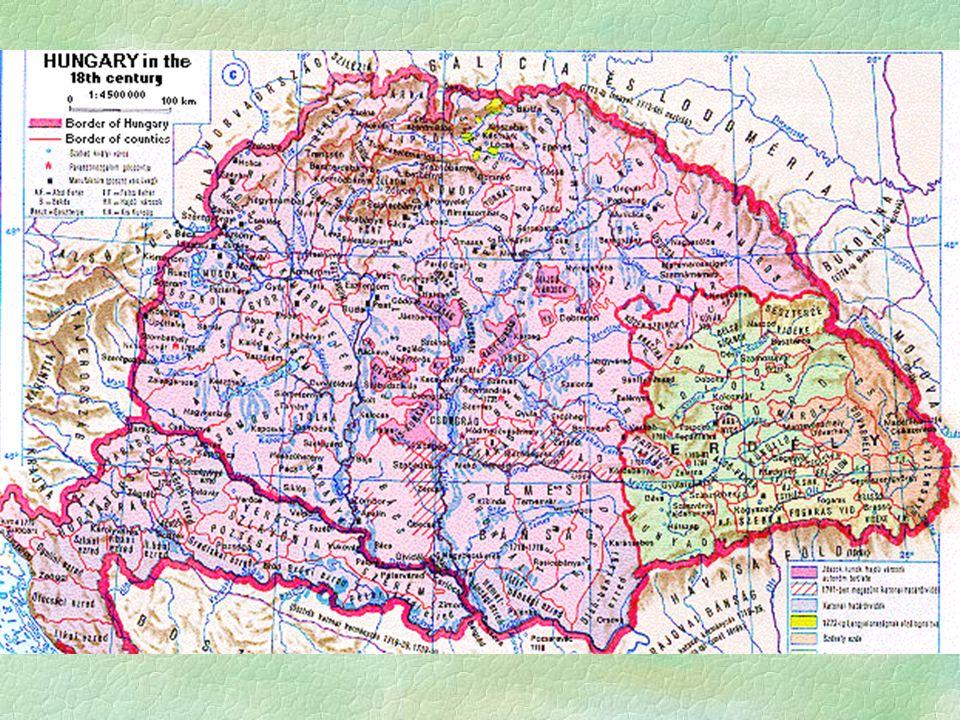 Magyarok  Teljes társadalmat alkotnak  nemesség, jobbágyság, polgárság  A társ.