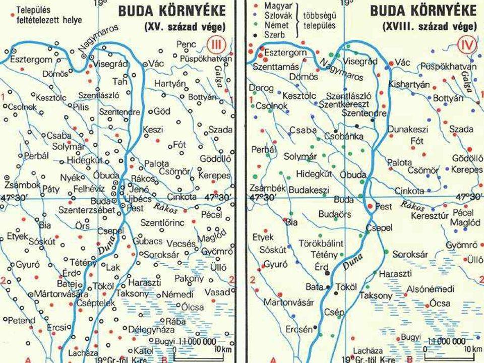 Magyarország etnikai összetétele A XV.század végénA XVIII.