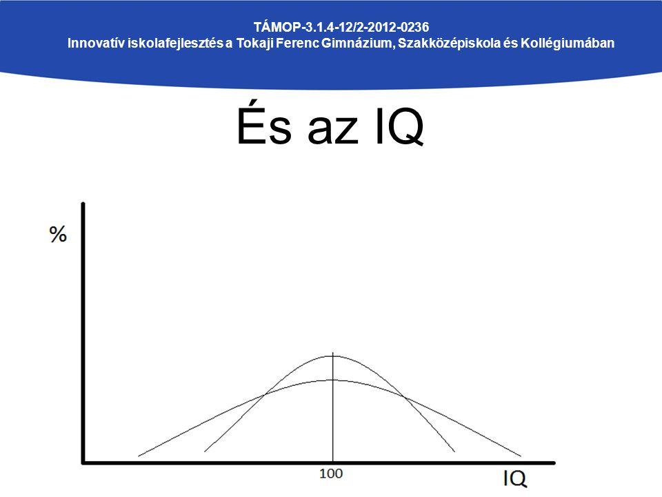 És az IQ TÁMOP-3.1.4-12/2-2012-0236 Innovatív iskolafejlesztés a Tokaji Ferenc Gimnázium, Szakközépiskola és Kollégiumában
