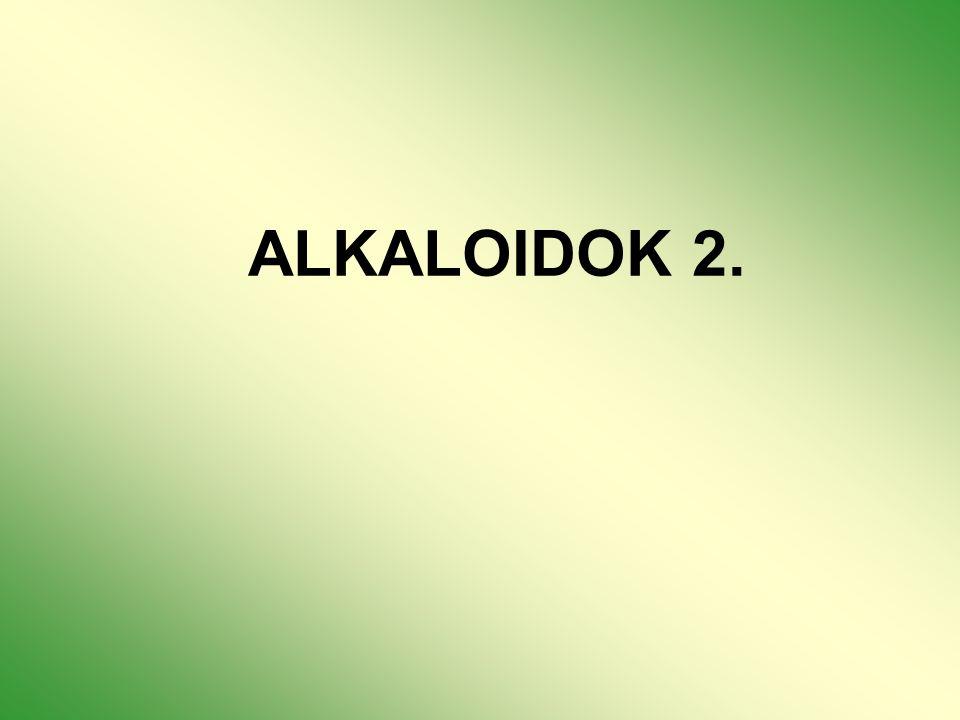 ALKALOIDOK 2.