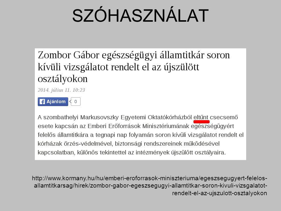 http://www.kormany.hu/hu/emberi-eroforrasok-miniszteriuma/egeszsegugyert-felelos- allamtitkarsag/hirek/zombor-gabor-egeszsegugyi-allamtitkar-soron-kiv