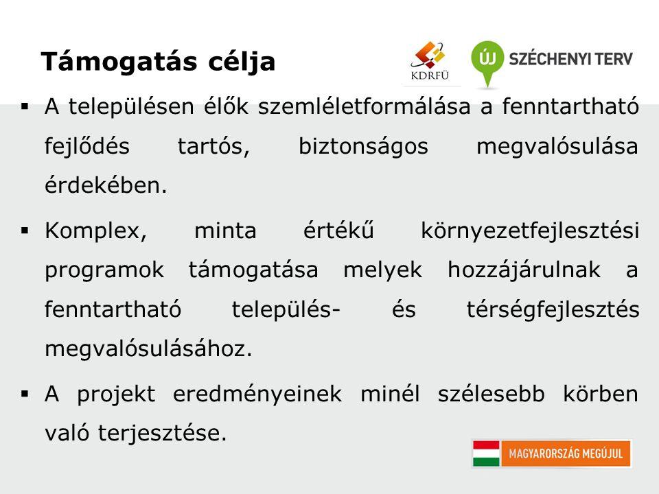 Pályázat benyújtása: 2012.február 12.