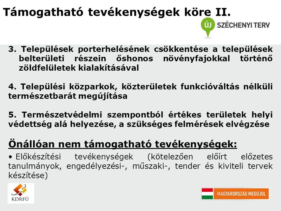 Csatolandó mellékletek II.S.1.sz. melléklet: Műszaki tervdokumentáció (pl.