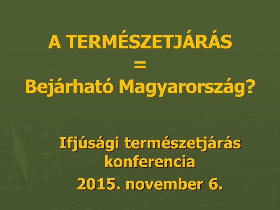 Ifjúsági természetjárás konferencia 2015. november 6.