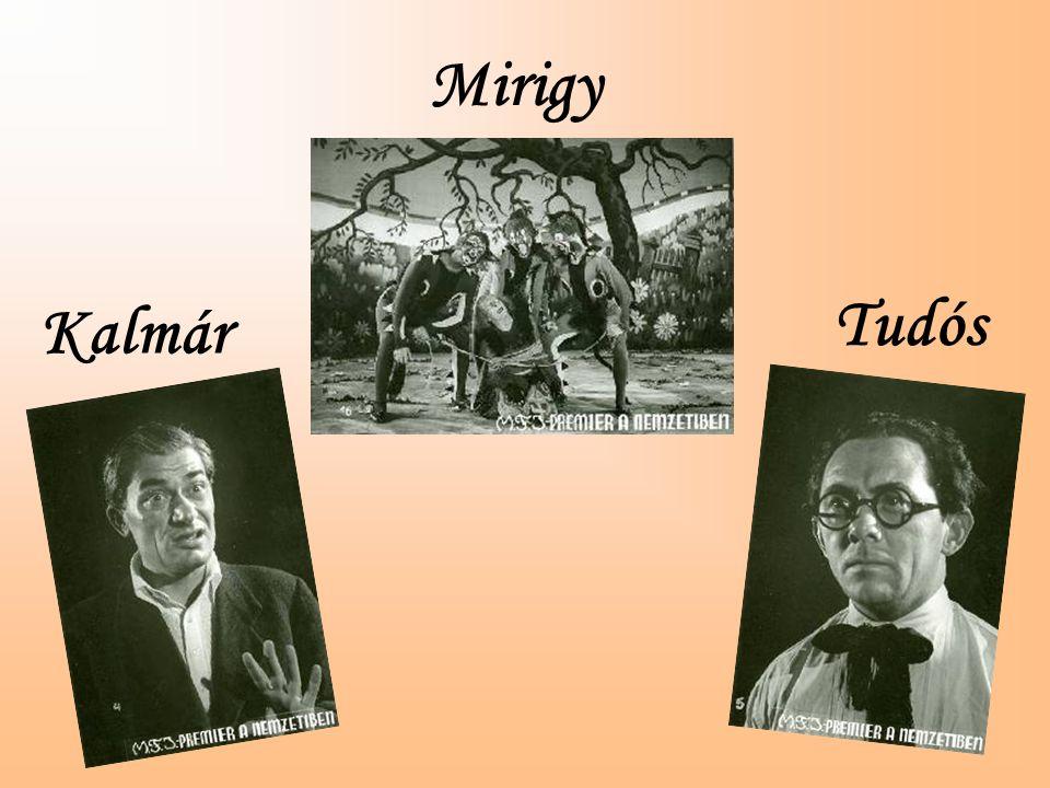 Tudós Kalmár Mirigy