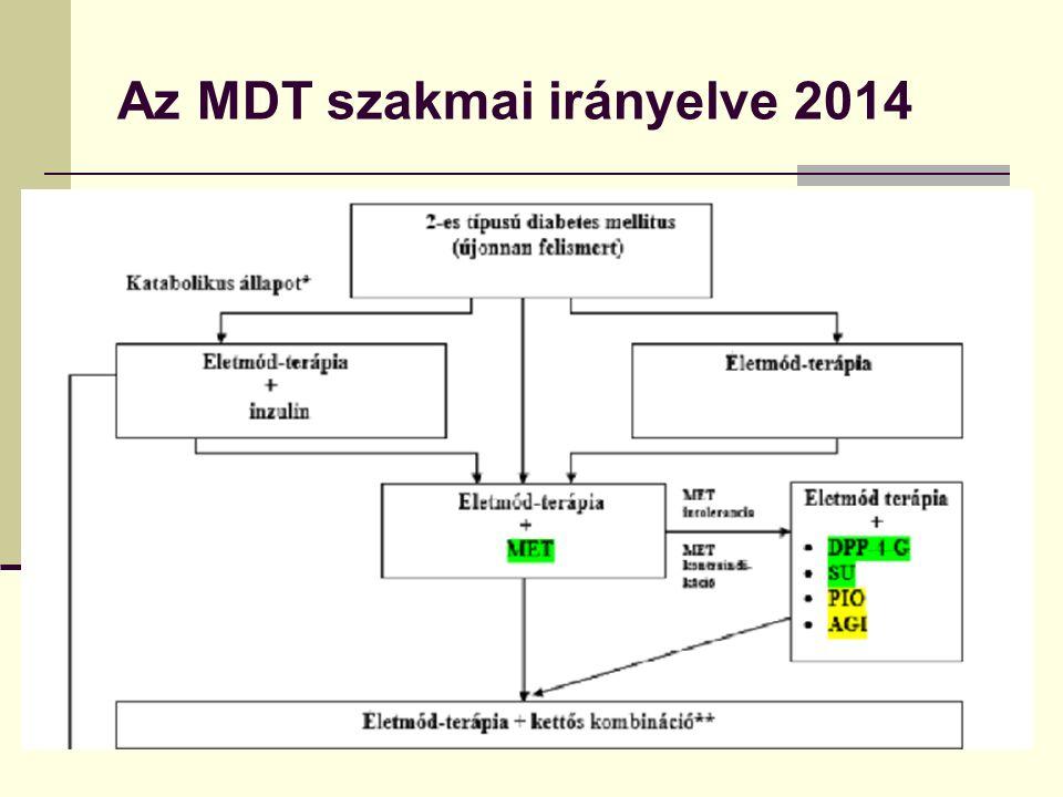 Az MDT szakmai irányelve 2014