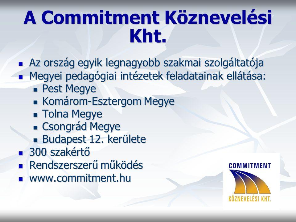 A Commitment Köznevelési Kht.