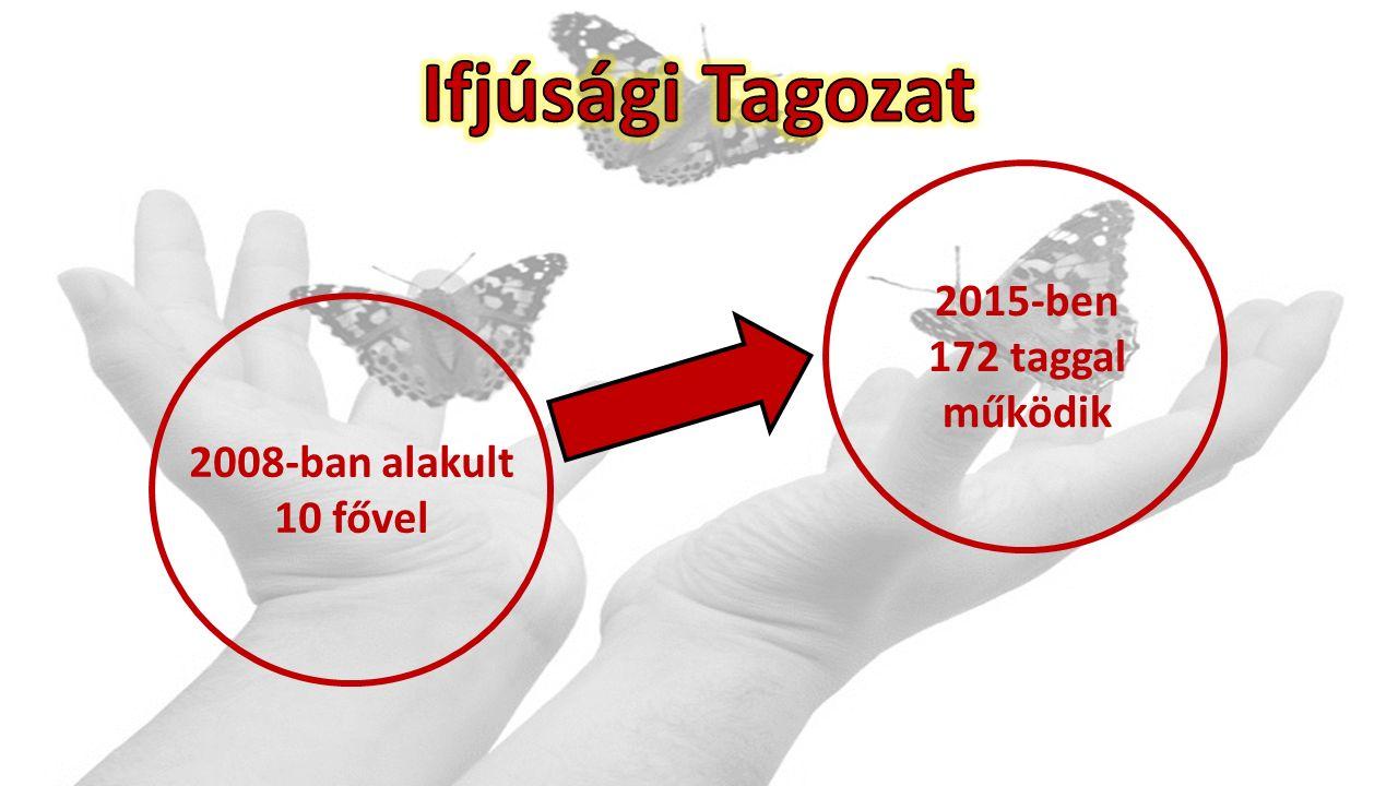 2008-ban alakult 10 fővel 2015-ben 172 taggal működik