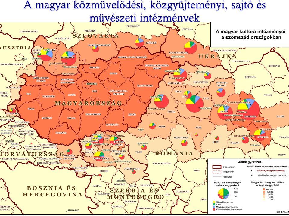A magyar közm ű vel ő dési, közgy ű jteményi, sajtó és m ű vészeti intézmények