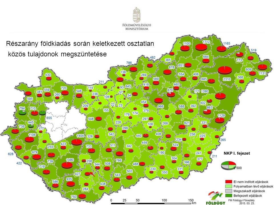 25 Részarány földkiadás során keletkezett osztatlan közös tulajdonok megszüntetése