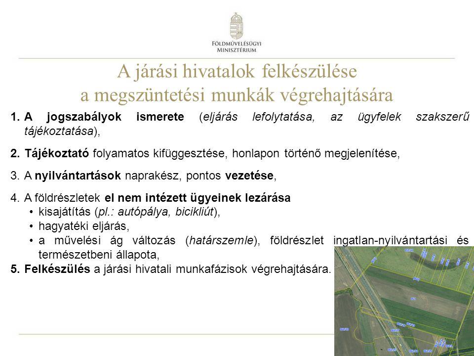 A jogszabályok ismerete a földrendező és a földkiadó bizottságokról szóló 1993.