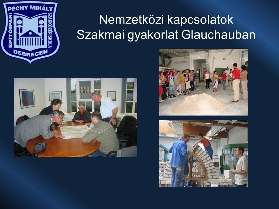 Nemzetközi kapcsolatok Szakmai gyakorlat Glauchauban