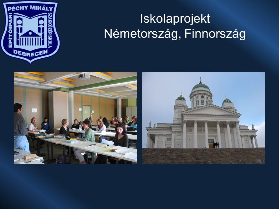 Iskolaprojekt Németország, Finnország