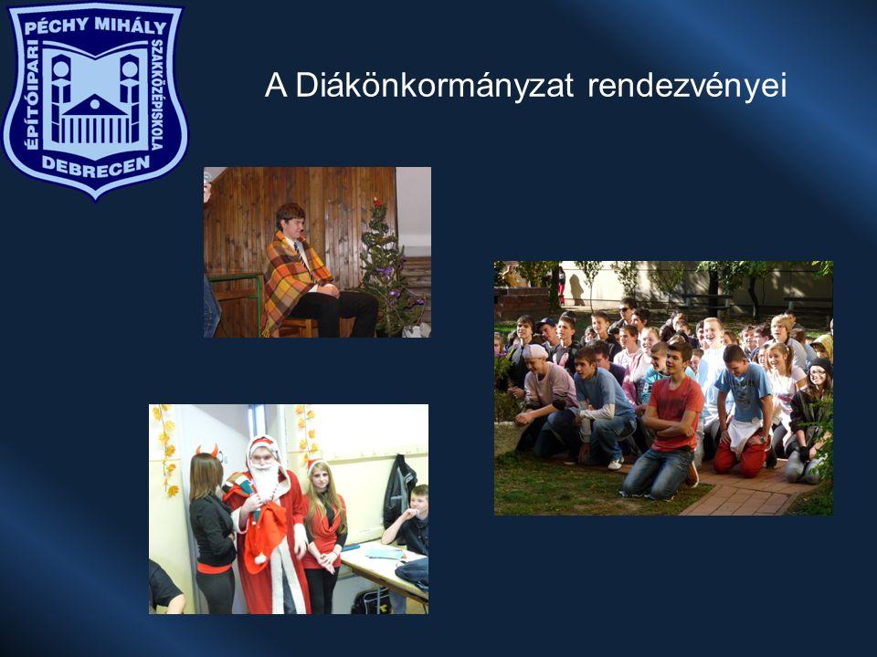 A Diákönkormányzat rendezvényei