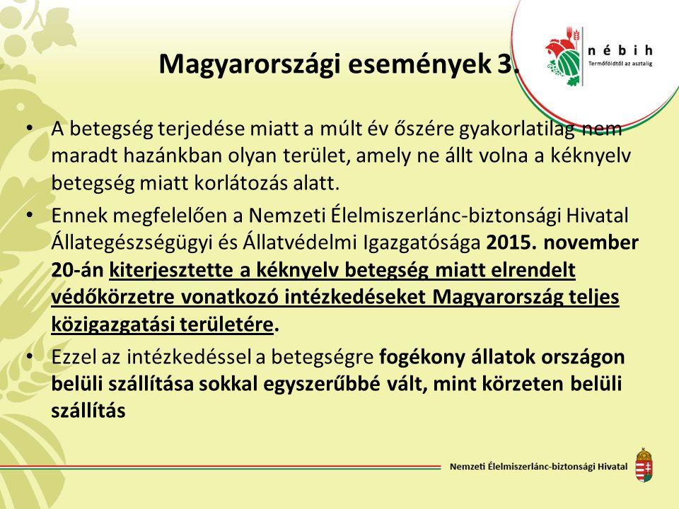 Magyarországi események 3.