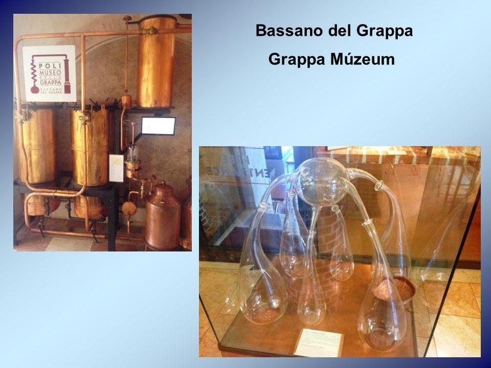 Bassano del Grappa Grappa Múzeum