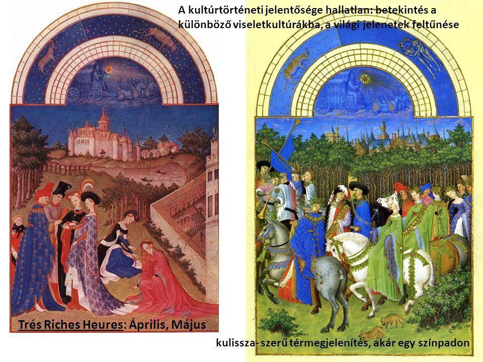Hugo van der Goes: A Portinari- triptychon csukott szárnyakkal A grisaille- jelenet: Annuntiatio (Angyali Üdvözlet)