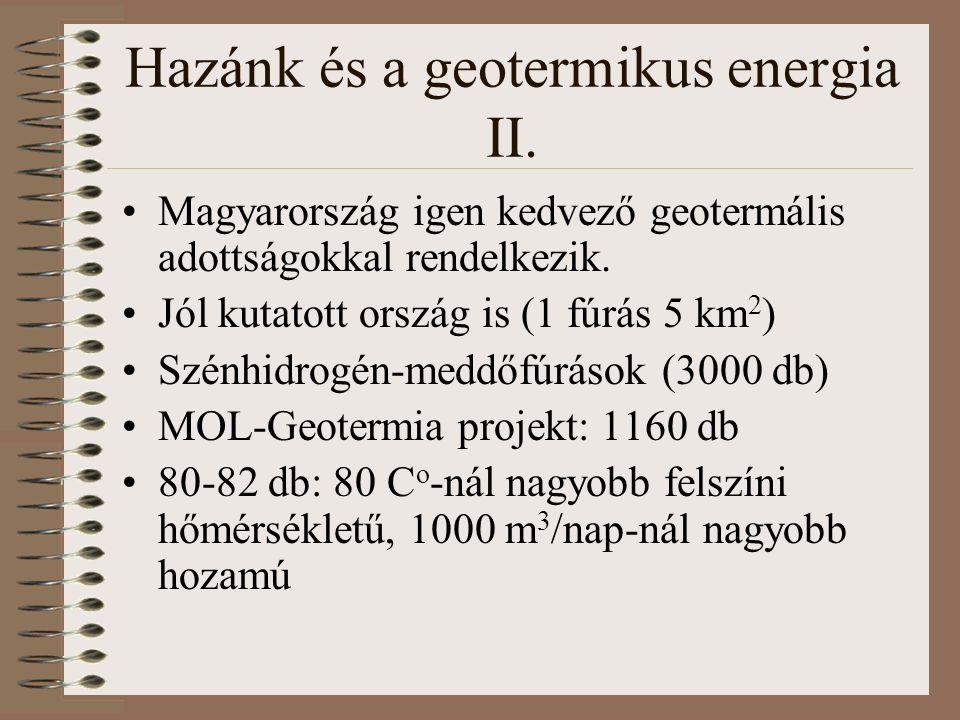 Hazánk és a geotermikus energia II.