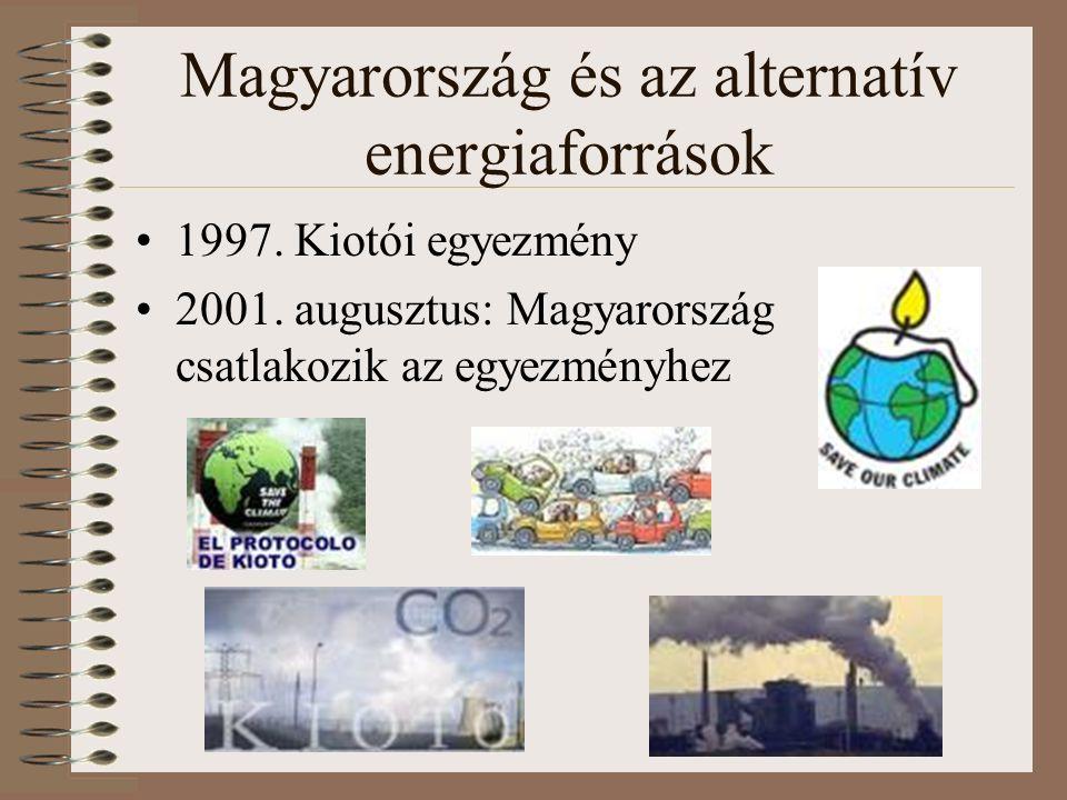 Magyarország és az alternatív energiaforrások 1997.