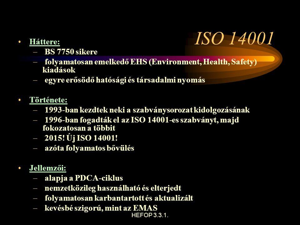 ISO Dr. Héjj Botond: Környezetgazdaságtan 72