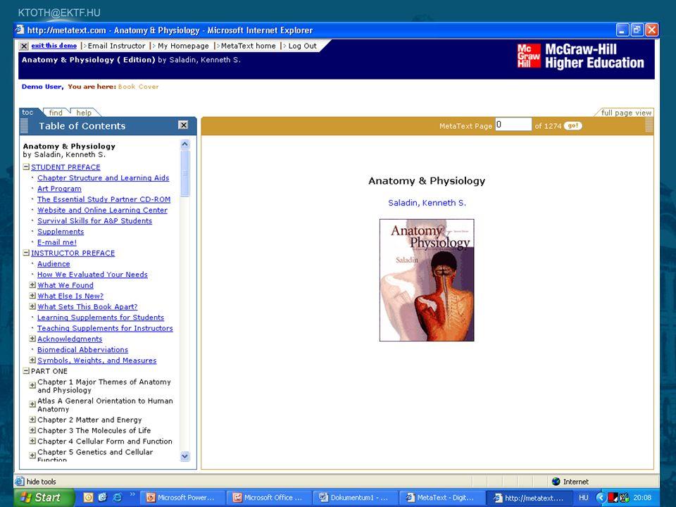 9 Elektronikus könyvek