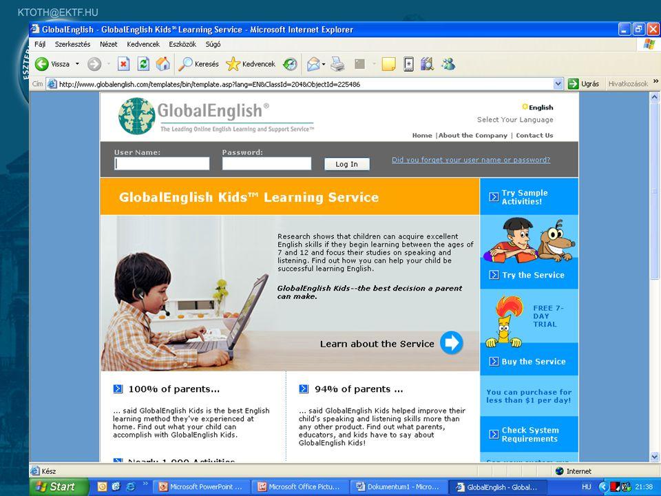 20 On-line nyelvtanulás