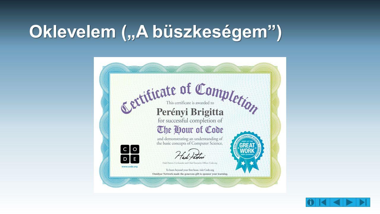 """""""A kód hete program leírása Angolul: """"Code of Week Weboldala: http://codeweek.eu/http://codeweek.eu/ Időpontja: 2015.október 14."""