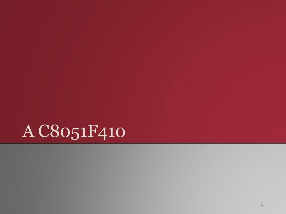 C8051F410DK - Fejlesztőkit 13