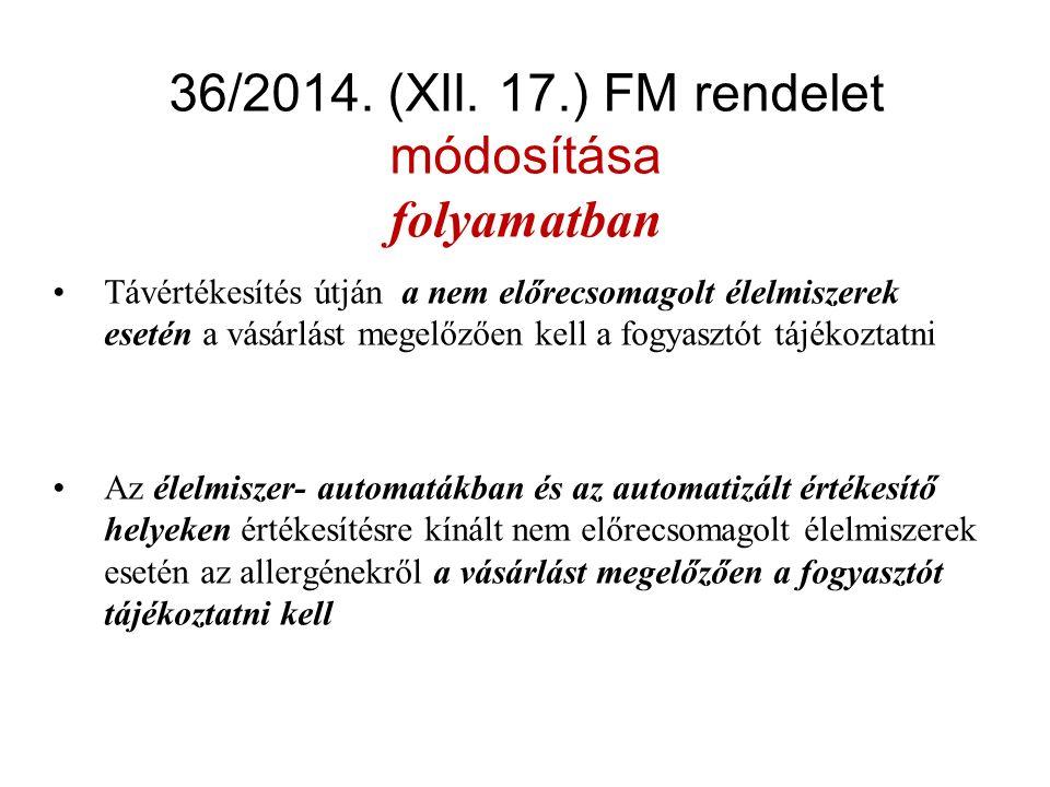 Új jelölési kötelezettség a berendezéseken 41/2014.
