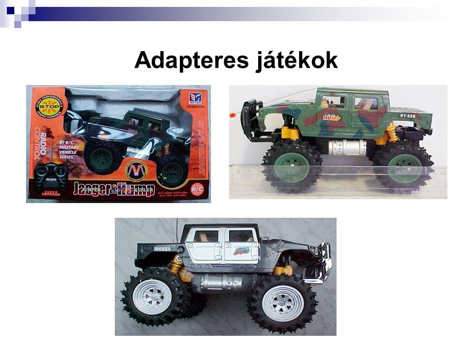 Adapteres játékok