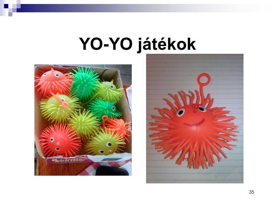 YO-YO játékok 35