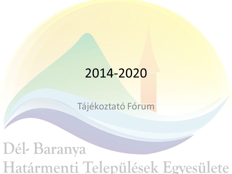 2014-2020 Tájékoztató Fórum