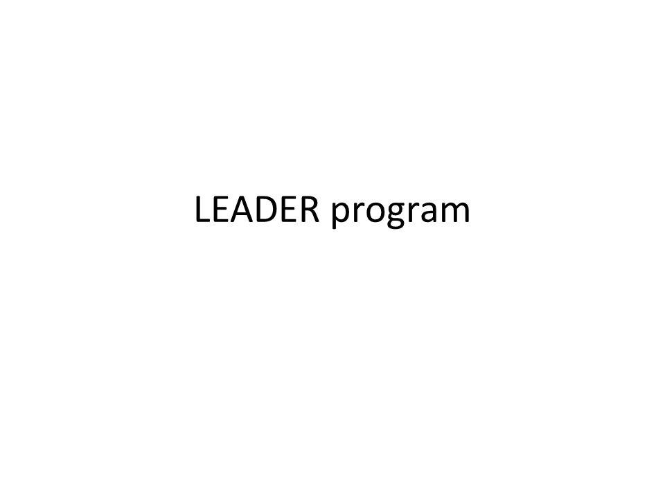 LEADER program