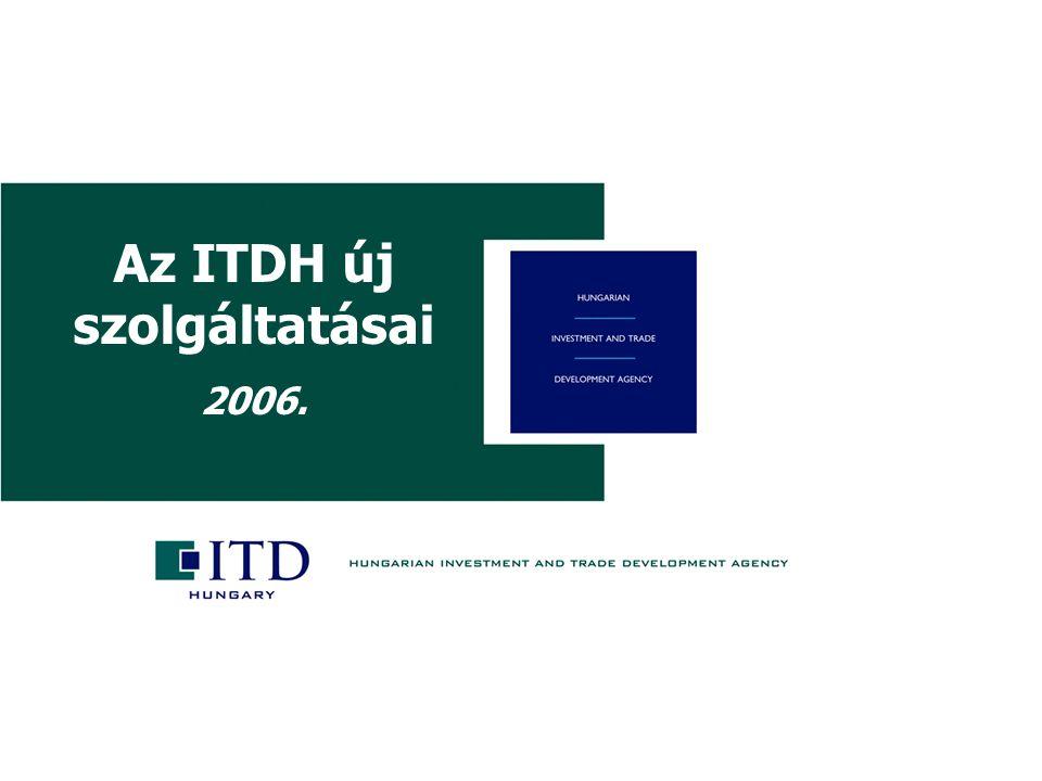 Köszönöm a figyelmüket.Az ITDH elérhetőségei 1061 Budapest, Andrássy út 12.