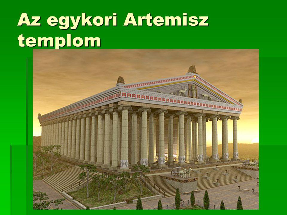 Az egykori Artemisz templom