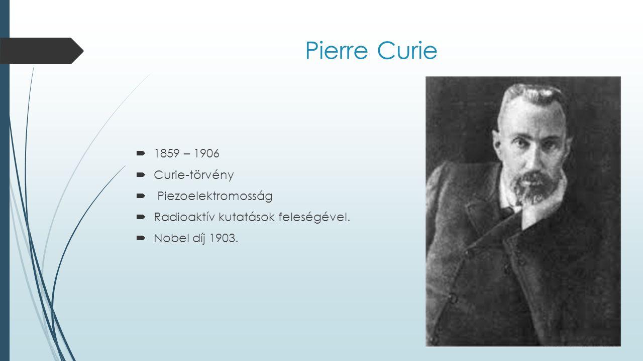 Irène Curie és Frederick Joliot  1926-ban kötöttek házasságot  A második világháború idején az ellenállási mozgalomban tagjaiként gyártottak robbanószereket a partizánok számára.