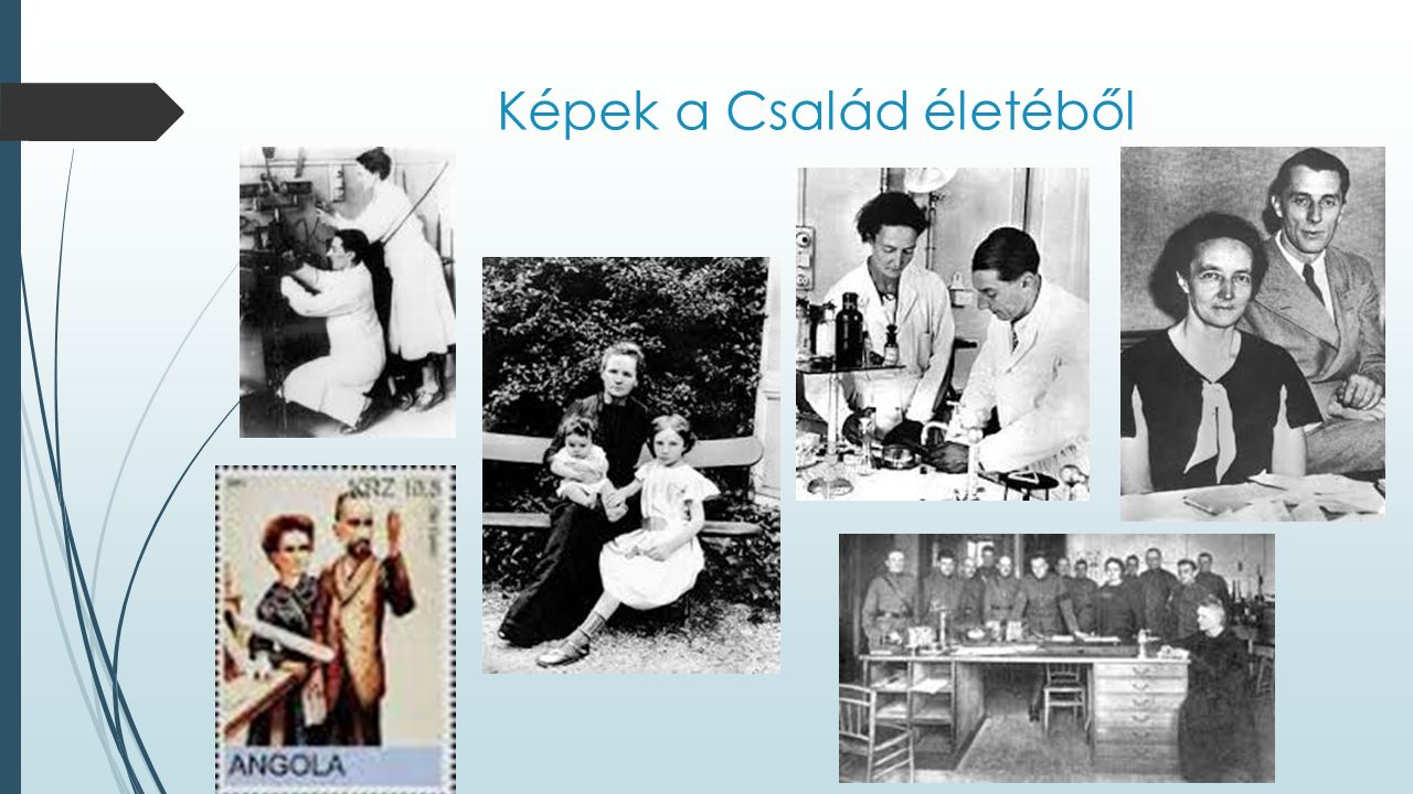 Források  http://chemicalchemistry.mindenkilapja.hu/html/18080846/render/curie- hazaspar http://chemicalchemistry.mindenkilapja.hu/html/18080846/render/curie- hazaspar  http://www.atomcsill.elte.hu/letoltes/foliak/5_evf/atomcsill_5_13_Radnoti_K atalin.pdf http://www.atomcsill.elte.hu/letoltes/foliak/5_evf/atomcsill_5_13_Radnoti_K atalin.pdf